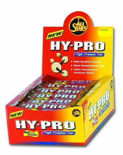 All Stars Hy Pro Deluxe Bar White-Chocolate Crunch Double Layer High Protein Bar 100g by ALL STARS by All Stars