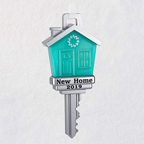 Hallmark Keepsake Christmas Ornament 2019 Year Dated New Home Metal,