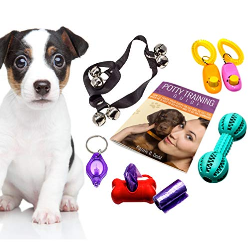 Interactive Puppy Training Dvd - Puppy Essentials Kit with K9 Training Tools and Emanual for Potty Training Puppies or Dogs