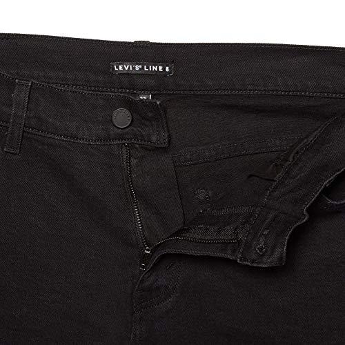 OT delgado Jeans rectas 8 Línea Azul auténticos Shield L8 Hombre Levi's azules w10OII