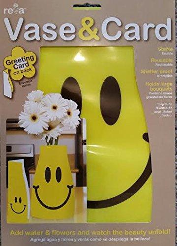 Amazon Reva Vase Greeting Card And Expanding Flower Vase