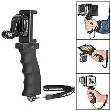 Fantaseal® Micro Movie Maker System Camera Hand Grip w/ Smartphone Clamp Mount for GoPro Grip Handle GoPro Support Bracket for GoPro Hero 5 / 4 / Hero 3+ / GoPro Hero / GoPro Hero+LCD / TomTom Bandit / Sony AS300R / X3000R / Nikon KeyMission 360 / KeyMission 170 / KeyMission 80 / Kodak SP360 / Samsung Gear 360 / Olympus Stylus Tough TG-Tracker / Drift GHOST-S / Stealth 2 / Ricoh WG-M1 / WG-M2 / Gopro Action Camera / SJCAM / Xiaomi Yi / Xiaomi Yi / 4K