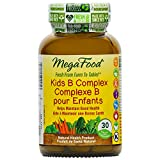 MegaFood - Kids B Complex, Helps Maintain Good Health, 30 Count
