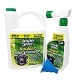 Simple Green Outdoor Pet Odor Eliminator 1 Gallon & 32 oz - Bundle Set