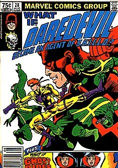 What If – Daredevil Became an Agent of S.H.I.E.L.D.? No. 28