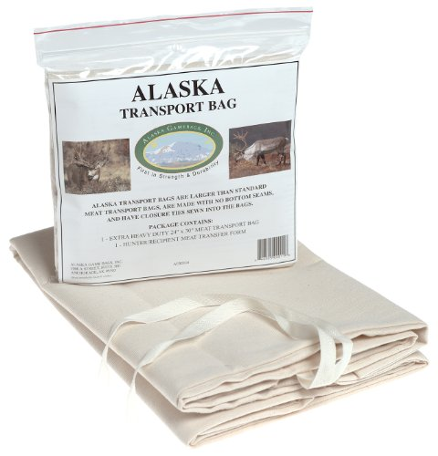 Alaska Game Alaska Deer/Sheep/Bear Hide Transport Bag, 24X30-Inch