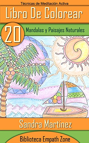 Amazoncom Libro De Colorear Para Adultos 20 Mandalas Y Paisajes