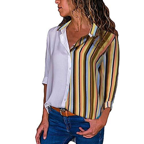 Sexy Cappuccio Felpa Elegante Manica T Maglia Donna D195 Bottone Lunga Scollo Camicia Weant Pullover Giacca Moda Top Shirt Blusa V Tumblr Magliette 6xqInXY