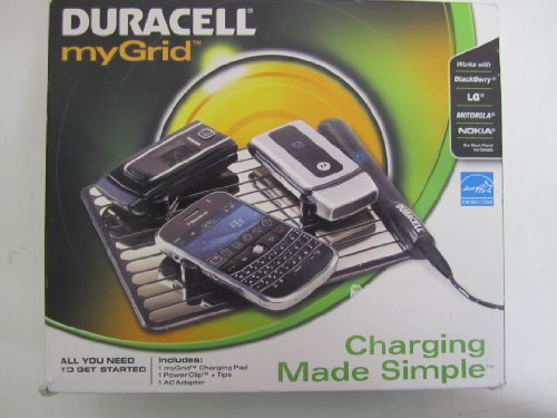 (Duracell myGrid Charger Pad Cell Phone Starter Kit (DURPPS5US0001) Category: Cellular Cables, Batteries and Power)