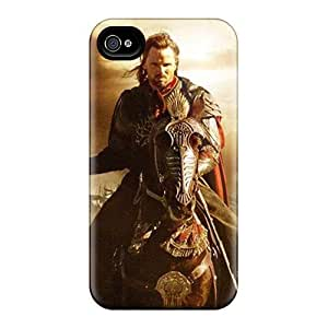 Slim Fit Tpu Protector Shock Absorbent Bumper Lord Of The Rings Case For Iphone 4/4s