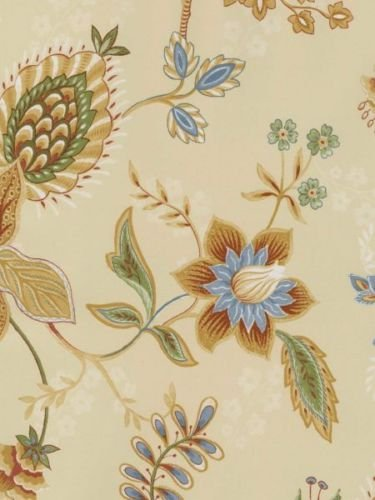 Norwall GC29831 Jacobean Floral Wallpaper