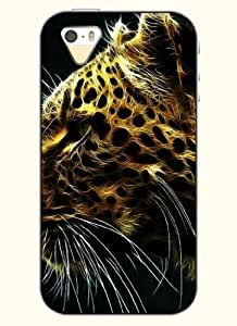 OOFIT Phone Case Design with Cheetah for Apple iPhone 5 5s 5g