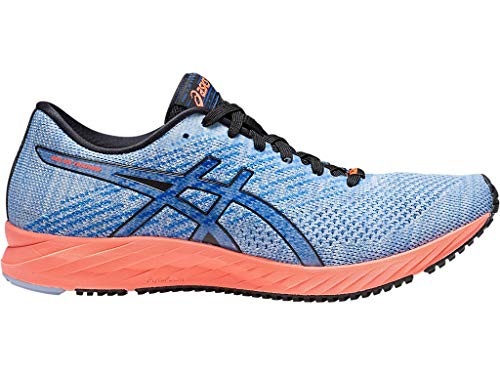 Blue Shoes Trainers - ASICS Women's Gel-DS Trainer 24 Running Shoes, 9.5M, Mist/Illusion Blue
