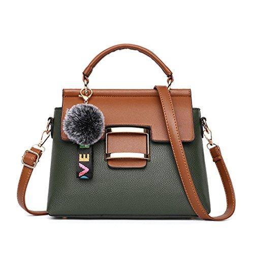 bandolera Mujer Shoppers clutches Verde y Carteras bolsos y Bolsos hombro mano de de HgRYxBq