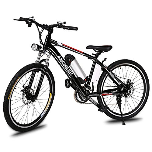 ANCHEER Power Plus Electric Mountain Bike, 26'' Electric Bike With ...
