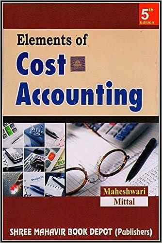 cost accounting book by sn maheshwari pdf download
