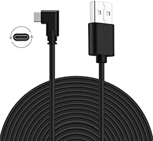USB Type C Cable 16ft(5m), VRCLUB Oculus Quest Link Cable, High Speed Data Transfer & Fast Charging Cable Compatible for Quest and Gaming PC