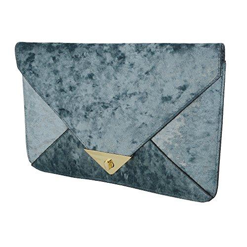 Pochette femme Velvet Grey GLAM pour ESSEX 8x6Aqwn