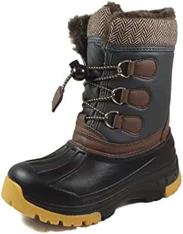 Nova Mountain Boy's and Girl's Winter Snow Boots