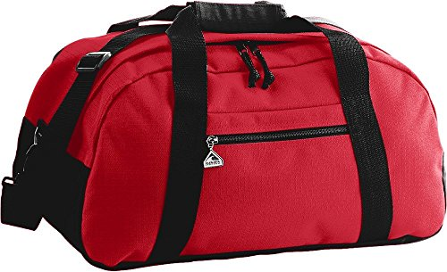 - Augusta Sportswear Large Ripstop Duffel Bag, Royal/Black, One Size
