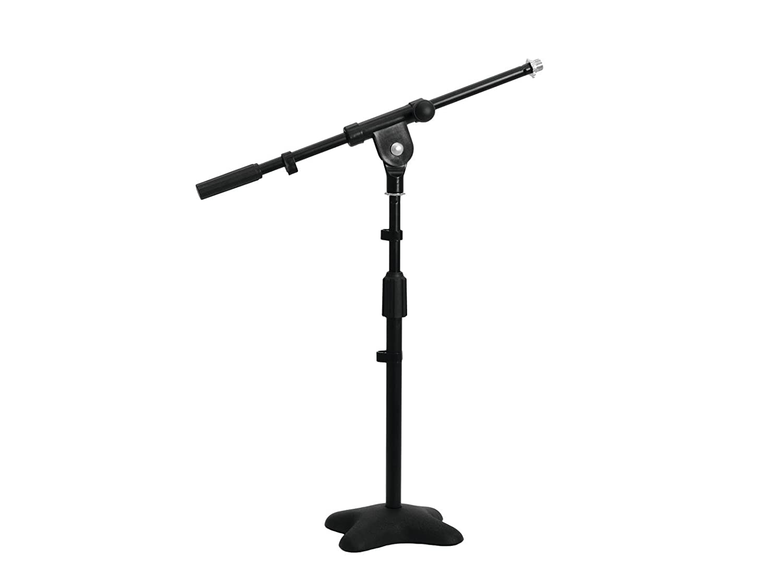Set de 2 x Brazo de micrófono con pie, altura de 44 cm - 67 cm ...