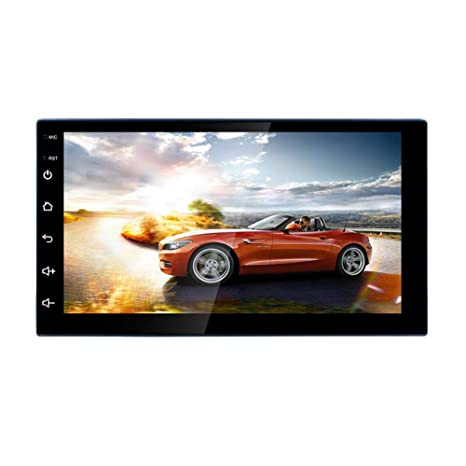 Android 8.1 Car Stereo Double Din 1GB with GPS Navigation and WiFi, Android Auto,