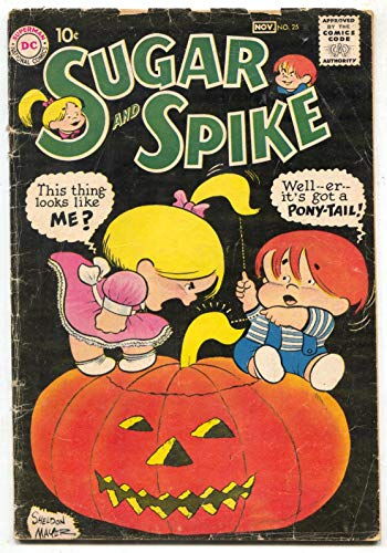 (Sugar & Spike #25 1959- Halloween cover- DC Comics)