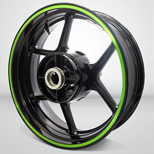Thick Outer Rim Liner Stripe for Kawasaki Ninja 300 Gloss Light Green