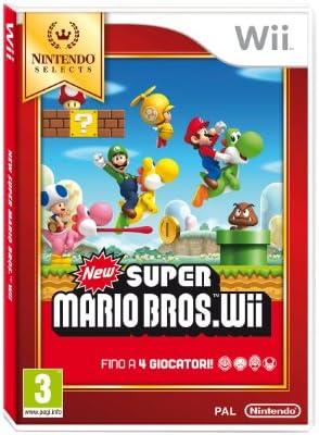 Nintendo New Super Mario Bros., Wii - Juego (Wii, Nintendo Wii, Plataforma, E (para todos)): Amazon.es: Videojuegos