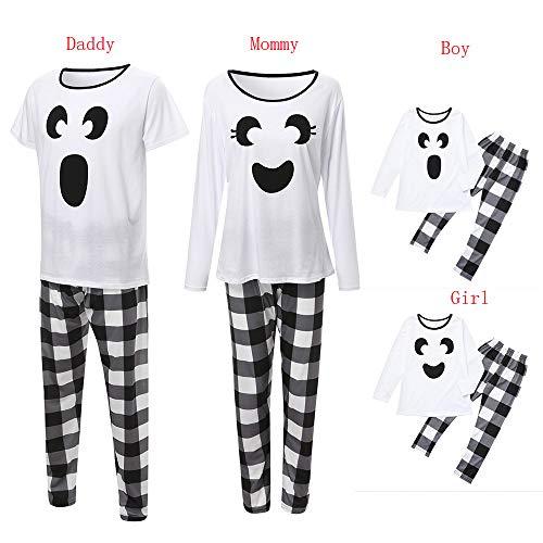 Family Pajamas Sleepwear Duseedik Women Men Kids Baby
