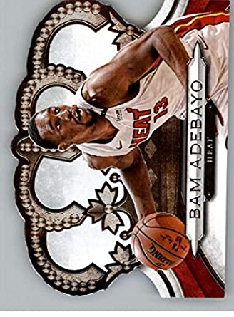 161d655f9 2018-19 Crown Royale Basketball  192 Bam Adebayo Miami Heat Official NBA  Trading Card
