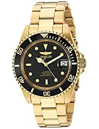 Invicta Men's 8929OB Pro Diver Analog Display Japanese Automatic Gold Watch