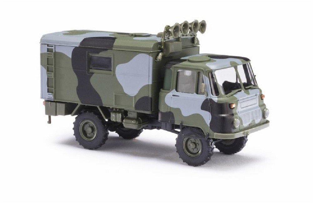 Busch 50238 Robur LO 2002 A Camouflage HO Scale Model Vehicle