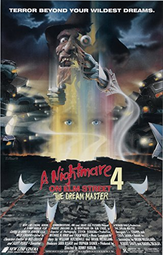 A NIGHTMARE ON ELM STREET 4 The Dream Master  Movie Poster 2