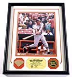 Brooks Robinson Framed Display Game Used Bat Photo Coin Highland Mint DF025184 - MLB Game Used Bats