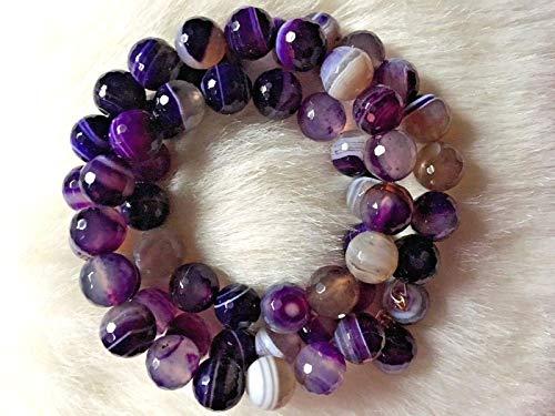 Kenneth Jay Lane Purple Agate Bead ()