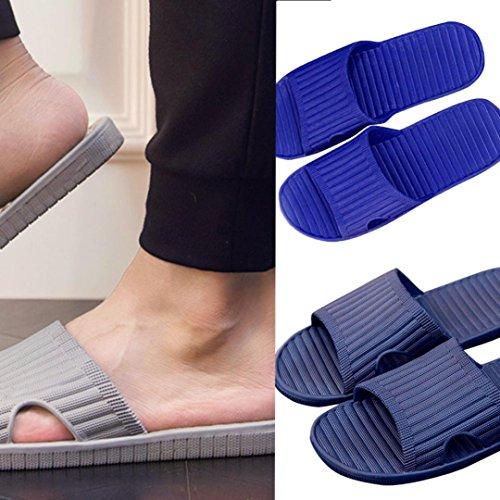 Flip Sandals Shoes Blue Slipper Englon Summer Flip Flops Flops Antiskid Male Men zY67q