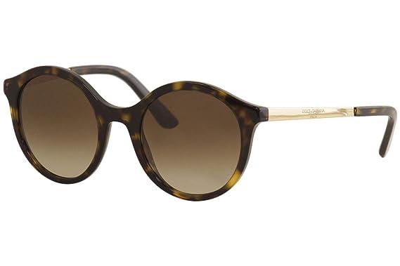 Dolce & Gabbana 0DG4358 Gafas de sol, Havana, 50 para Mujer ...