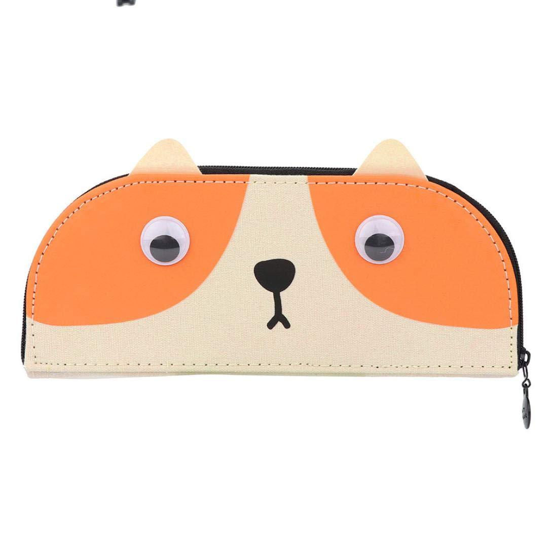 KFSO - Estuche para lápices, diseño de gato con cremallera, ideal para regalo: Amazon.es: Juguetes y juegos