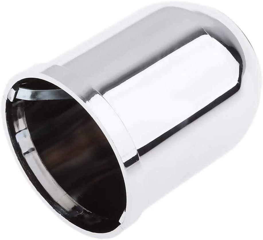 POFET Chrome Barre de remorquage universelle en plastique de 50 mm 50 mm x 70 mm Pour attelage de remorquage
