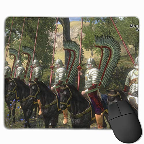 -ikuw=js Mount & Blade with Fire & Sword Non-Slip Mouse Pad for Computer, Office and Family White One Size (Mount And Blade With Fire And Sword Map)