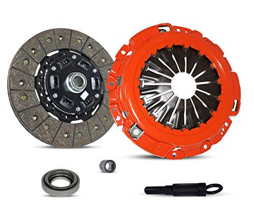 (Clutch Kit Works With Nissan 350Z Infiniti G35 Track Touring Base X 35th Anniversary Edition Enthusiast Grand Touring 2003-2007 3.5L V6 GAS DOHC Naturally Aspirated (Vq35De; Stage 1))