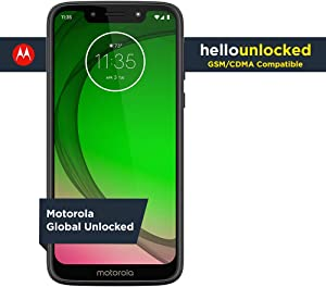 Moto G7 Play - Unlocked - 32 GB - Deep Indigo (US Warranty) - Verizon, AT&T, T-Mobile, Sprint, Boost, Cricket, & Metro - PAE80011US