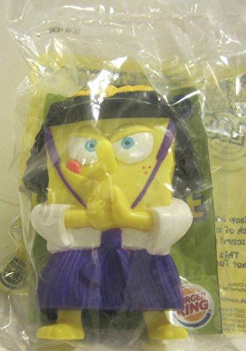 Burger King Outfit (Burger King SpongeBob Squarepants Lost in Time Samurai Knight 2005)
