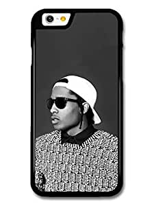 AMAF ? Accessories ASAP Rocky Black and White Portrait with Sunglasses case for iPhone 6 by mcsharks
