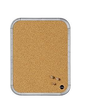 Bi-Office CLK010101 Pannello Easy Cornice Sughero, 216 x 279 mm, Bianco Bi-Silque