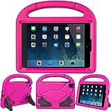 LEDNICEKER Apple iPad Mini 1 2 3 4 5 Kids Case - Light Weight Shock Proof Handle Friendly Convertible Stand Kids Case for iPad Mini, Mini 5,Mini 4, iPad Mini 3rd Gen, iPad Mini 2 Tablet - Magenta/Rose