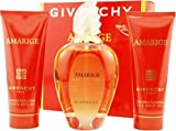 Amarige By Givenchy For Women. Set-edt Spray 3.4-Ounce & Body Veil 2.5-Ounce & Bath Gel 2.5-Ounce