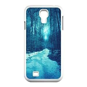{Road & Highway Series} Samsung Galaxy S4 Case Winter Road 2, Case Dustin - White
