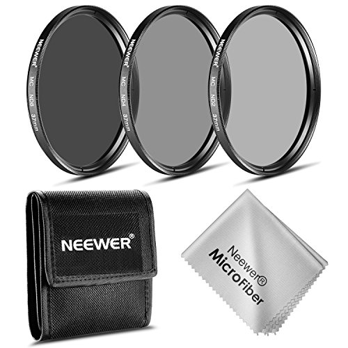 Neewer 37MM ND Filter Set (ND2 ND4 ND8)for Olympus PEN E-PL2 E-PL3 E-PL5 E-PL6,OM-D E-M10 Compact Cameras w/14-42mm f/3.5-5.6 II Zoom Lens